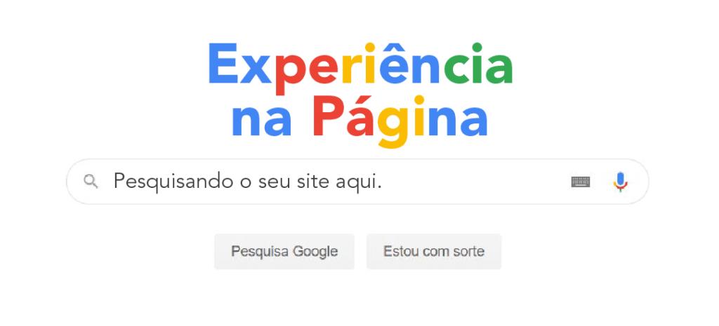 Experiência na Página