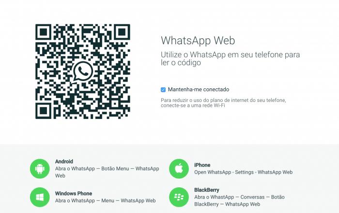 QR Code - WhatsApp Web